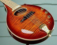 Griffin Guitars Custom Electric Mandolin