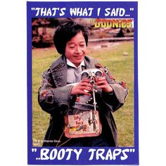 """Fun fact: Sean (Mikey) and Ke (Data) actually invented the """"booty traps"""" joke during the attic scene. No one had the heart to stop the rest of the cast when they adopted it. Childhood Movies, 80s Movies, Funny Movies, Great Movies, 80s Movie Quotes, Favorite Movie Quotes, Tv Quotes, Os Goonies, Goonies Party"""
