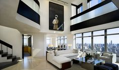Penthouses: Central Park West Penthouse Duplex, Manhattan, New York  © Paul Warchol  Click the picture for more!