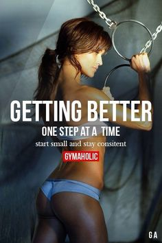 weight loss nutrition health tips health and fitness gym workout Getting Better One Step At A time. Fitness Workouts, Fitness Goals, Fun Workouts, Health Fitness, Fitness Plan, Fitness Diet, Woman Fitness, Fitness Humor, Fitness Apparel
