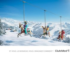 Club Med - Et vous le bonheur, vous l'imaginez comment : Work : Saatchi & Saatchi Visual Advertising, Creative Advertising, Advertising Design, Resort All Inclusive, Vacation Resorts, La Migration, Image Club, Hotel Ads, Dreams Resorts