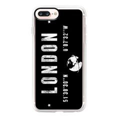 London - iPhone 7 Plus Case And Cover ($40) ❤ liked on Polyvore featuring accessories, tech accessories, iphone case, iphone cases, iphone cover case, apple iphone case and clear iphone case