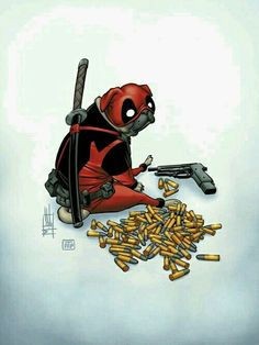 Deadpool the pug