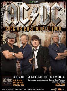 AC/DC - Unica data in Italia il 9 luglio all'autodromo di Imola #ACDC #ACDCTour #Italia
