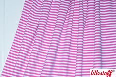 lillestoff » Ringeljersey rosa/weiß « // hier erhältlich: http://www.lillestoff.com/ringeljersey-rosaweiss.html