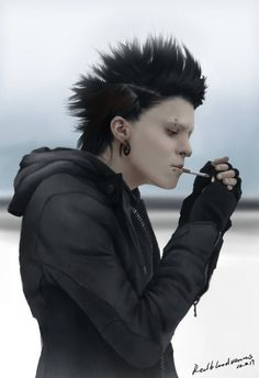 How to put together an authentic Lisbeth Salander costume from the Girl with the Dragon Tattoo movie.