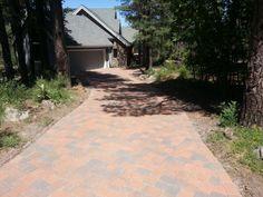 Flagstaff driveway