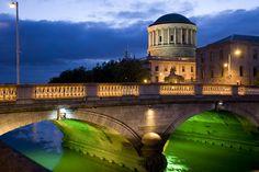 Liffey River, Dublin. Beautiful.