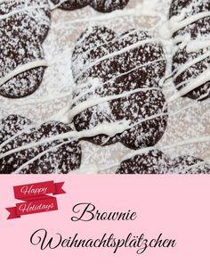 Ich habe die Tage damit begonnen Weihnachtsplätzchen zu backen, nach den Vanilleplätzchen kommt heute das Rezept von Brownie Weihnachtscookies
