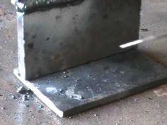 curso de soldadura gratis 7 escultura en hierro 45 -  YouTube