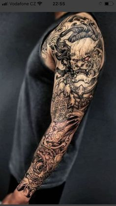 Tattoo oriental ideas for tattoo snake oriental tattoo Samurai Tattoo Sleeve, Japanese Sleeve Tattoos, Best Sleeve Tattoos, Tattoo Sleeve Designs, Tattoo Designs Men, Asian Tattoo Sleeve, Tattoo Japanese, Japanese Art, Irezumi Tattoos