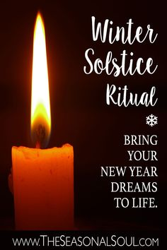 This ritual is intended to open you up to the New Year's positivity & possibility. It is designed to leave behind any negativity in the old year & make your New Year wishes become a reality. Winter Solstice Rituals, Winter Solstice Traditions, Summer Solstice, What Is Winter Solstice, Winter Equinox, Yule Celebration, Witch Rituals, New Years Traditions, New Year Wishes