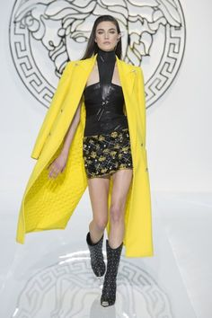 """The sexy, strong, brave and full of energy 2013 Trends fashion collection unveiled by Versace in Milan called """"Vunk. Check out here for more news."""