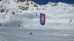#snowkite #Montespluga #Valtellina