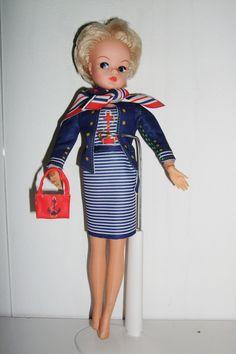 "VINTAGE 11"" SINDY DOLL 1970 Vintage Blonde Blue eyes   eBay"
