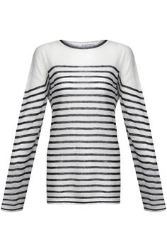 To all the lovers of the seaside: Try this striped jumper and start to breath the sea breeze! Vegan Fashion, Ethical Fashion, Cheap Fashion, Cotton Jumper, Striped Linen, Hemp, Organic Cotton, Women Wear, Komodo