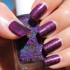 Glam Polish Falling Galaxy - What's Indie Box September 2014 - Spectacular Space