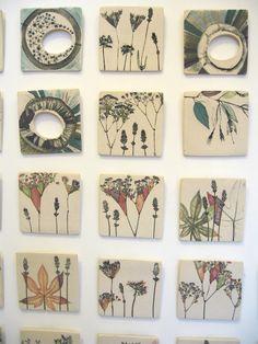 Wall Ceramics-simplistic organic design