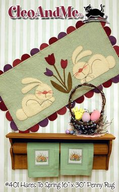 Spring Penny Rug Pattern