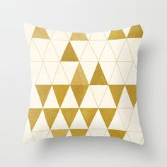 My Favorite Shape Throw Pillow