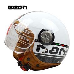 (61.92$)  Buy here - http://ai7jf.worlditems.win/all/product.php?id=32787997792 - BEON Helmet Motorcycle Helmet Retro Helmet B-110