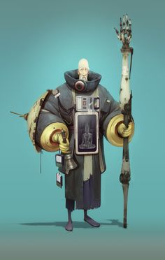 Priest 0101, Aleksandr Nikonov on ArtStation at https://www.artstation.com/artwork/eVWJX