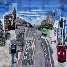 Leith Walk , Edinburgh - Photo montage print £60.00