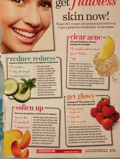 Try for clear skin!