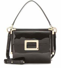 88d9f2f39e8d Roger Vivier Miss Viv  Carre  Mini Patent Leather Shoulder Bag For  Spring-Summer 2017