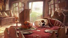 Tribute to Monkey Island - Blondebeard's Chicken Shoppe by Rafael Z Chies   Fan Art   3D   CGSociety