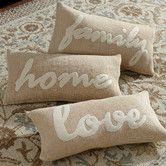 Found it at Birch Lane - Home Word Pillow Cover Collection