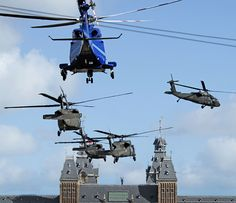 Lifting off from the Museumplein - Made possible by www.iCraiova.com
