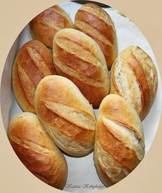 Bread Recipes, Baking Recipes, Hungarian Recipes, Hungarian Food, Bread And Pastries, Dessert Drinks, Snacks, Food 52, Bread Baking