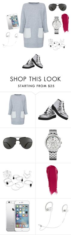 """""""Untitled #980"""" by aagyekumwaa ❤ liked on Polyvore featuring M.Patmos, Linda Farrow, Tommy Hilfiger, NARS Cosmetics and Beats by Dr. Dre"""