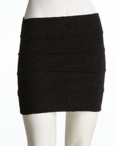 2b Bandage Lace Mini Skirt