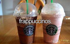I seriously love all frappucinos at Starbucks!!!!!! There is never a bad time for one but I have trouble choosing which one to get.