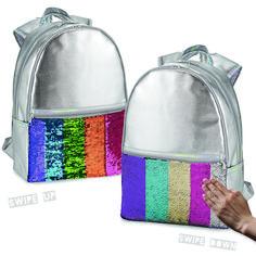 Top Trenz Reversible Sequin Backpacks Sweets//Smiley
