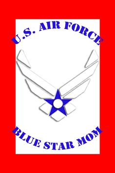 Blue Star Mom, Air Force Mom, Service Banner