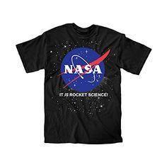 Nasa It Is Rocket Science Logo Youth T-Shirt (Large) Nasa http://www.amazon.com/dp/B00RVU5KP2/ref=cm_sw_r_pi_dp_lfVSvb1M66A1S