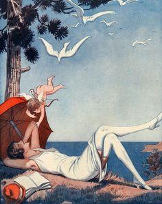 George Pavis for La Vie Parisienne