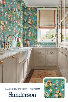 Kitchen Wallpaper, Of Wallpaper, Kitchen Cabinets, Bring It On, Home Decor, Decoration Home, Room Decor, Cabinets, Home Interior Design