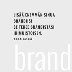 🖤👌  .  .  .  .  .  .  .  .  .  .  .#brändäys #mediaassari #brändi #olenbrändi #rakennaomabrändisi #yrittäjät #yrittäjä #markkinointi #sosiaalinenmedia #some #digimarkkinointi #henkilöbrändi #brändäys #tarina #brändintarina Asia, Instagram