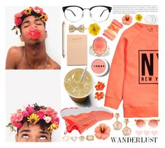 """""""See I know my destination...I'm just not there."""" by rredamancy ❤ liked on Polyvore featuring H&M, LORAC, Michael Valitutti, NIKE, Pasquale Bruni, Gucci, Kenneth Jay Lane, Crap and Forever 21"""