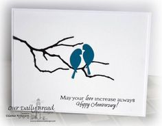LOVEFEST2013K Love Birds by YoursTruly - Cards and Paper Crafts at Splitcoaststampers