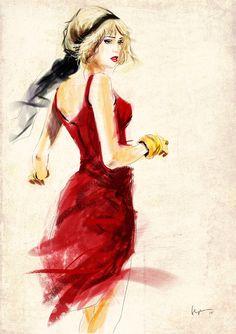 Vestido Rojo!