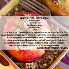 Nordic Diet: Photo: Healthy Viking Age breakfast or dessert. Medieval Recipes, Ancient Recipes, Nordic Diet, Viking Food, Nordic Recipe, Norwegian Food, Norwegian Recipes, Scandinavian Food, Good Food