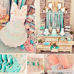 If vintage & shabby chic call your name, then this Vintage Rose + Little Birdie Themed Birthday Party by The Event Essentials (with an amazing cake trio by Let Them Eat Cake) is just for you!  #Vintage #Birthday http://hwtm.me/15kOYGt
