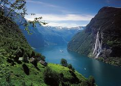 Norway, Seven Sisters Waterfall