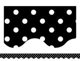 Teacher Created Resources - Black Mini Polka Dots Border Trim on sale now! Get huge savings on all of your teacher supplies at DK Classroom Outlet. Bulletin Board Supplies, Bulletin Board Borders, Sunday School Rooms, Teaching Supplies, School Supplies, Teachers Aide, Teacher Created Resources, Classroom Themes, Classroom Organization
