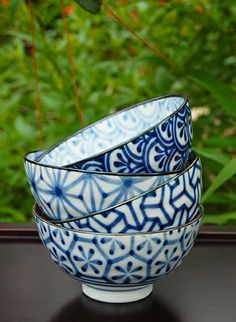 4 Piece Noodle Bowl Set from the Museum Store. This is one of our more popular items, but it's only available in-store this season. Looking to shop online? Check out our online stock at morikami.org/store